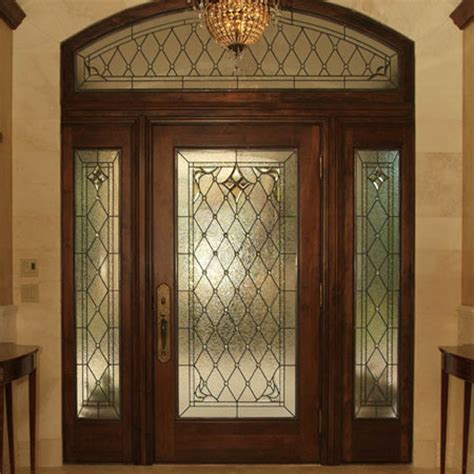 Leaded Glass Front Door Custom Stained Glass Designs Scottish Stained Glass