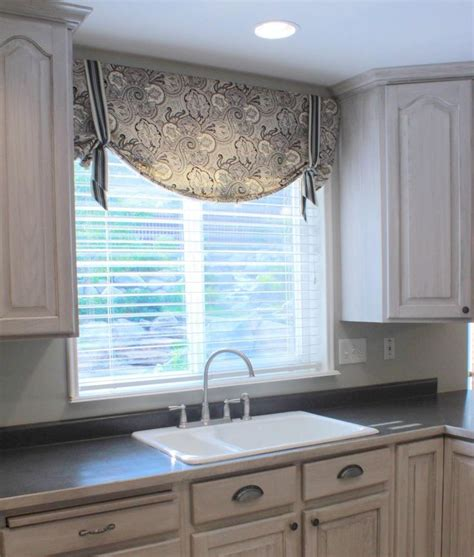 bay window kitchen curtains best 25 kitchen valances ideas on coupons for