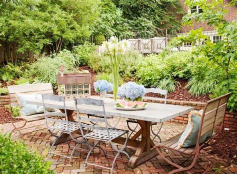 Rustic Garden Decor Ideas Triyae Rustic Backyard Landscaping Ideas Various Design Inspiration For Backyard