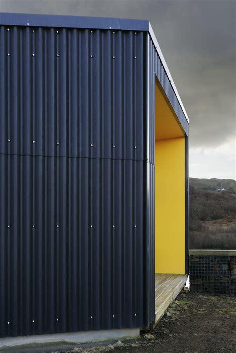 corrugated iron house designs corrugated metal sheeting black house rural design architects isle of skye