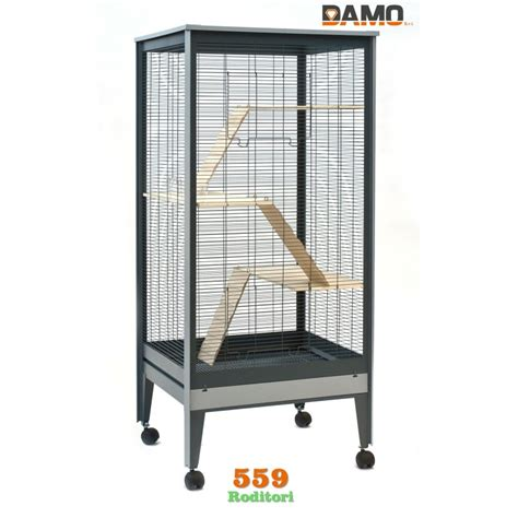 gabbia per scoiattoli gabbia con barre conigli piccoli mammiferi roditori mod