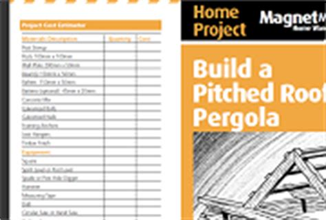 how to build a pitched roof pergola free pergola plans how to build and design a pergola