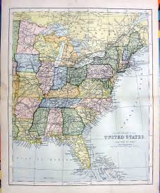eastern us map east usa map