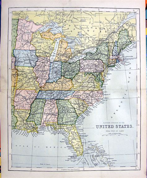 map of eastern us eastern united states images