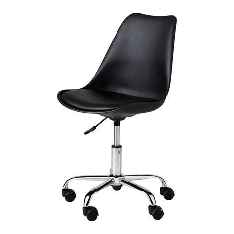 Chaise De Bureau Noire Bristol Maisons Du Monde Chaise De Bureaux