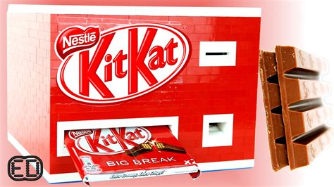 Kitkat Maxy lego kitkat chocolate bar machine