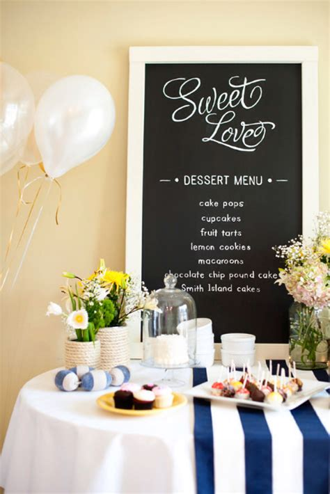 theme wedding shower menu 10 bridal shower menu ideas
