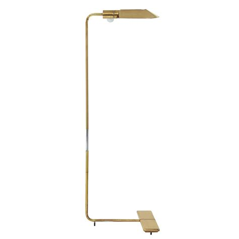Reading Floor Ls Adjustable by Adjustable Reading L In Brass By Cedric Hartman At 1stdibs