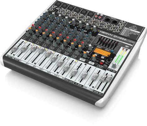 Sale Mixer Behringer Xenyx Qx 1222 Usb 12 Channel behringer xenyx qx1222usb 16 in mixer usb audio interface
