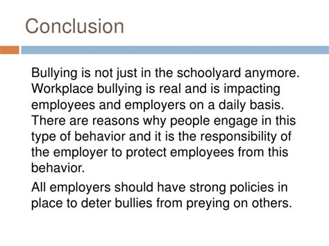 thesis statement about bullying laws essay on cyber bullying conclusion