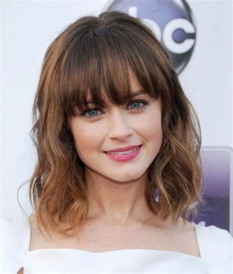 2017 Medium Hairstyles For With Bangs by Best 25 Medium Hairstyles With Bangs Ideas On