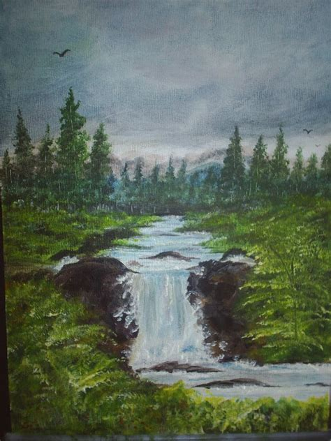 acrylic painting waterfalls 17 best images about waterfalls on acrylics