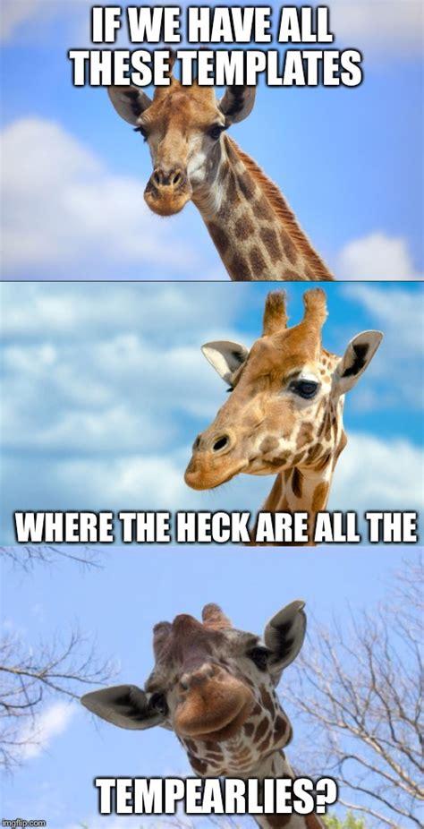 Giraffe Puns