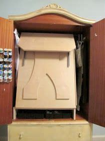 sonoma craft armoire storage cabinet 38 best sewing armoire images on computer