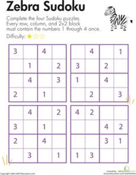 printable sudoku for ks2 1000 images about number puzzles sudoku on pinterest