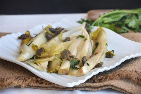 cucinare indivia belga 187 indivia in padella ricetta indivia in padella di misya