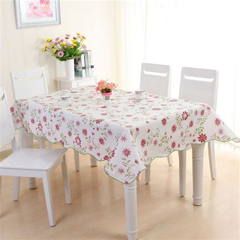 kitchen table protector chic new wipe clean pvc vinyl tablecloth dining kitchen