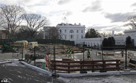 white house bunker mystery of the west wing hole is obama building a super bunker under the white house