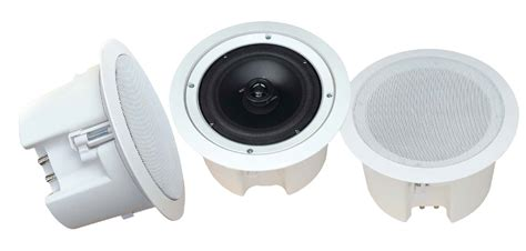 Wall Speaker Toa 6 Watt pylehome pdpc62 home and office home speakers sound and recording home speakers