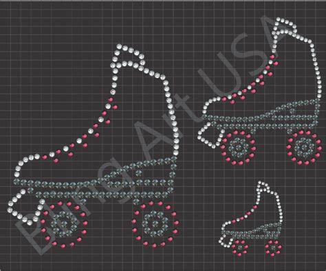 pattern for roller skate roller skate downloads templates patterns skates bling