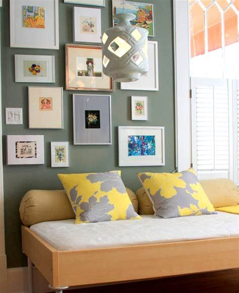 grey yellow walls room re decorating ideas on a budget from arabia