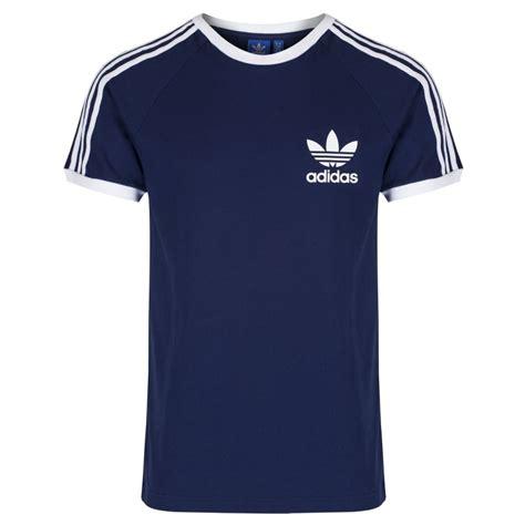 Tshirt Adidas Reutro Navy adidas adidas 3 stripes retro trefoil navy z113