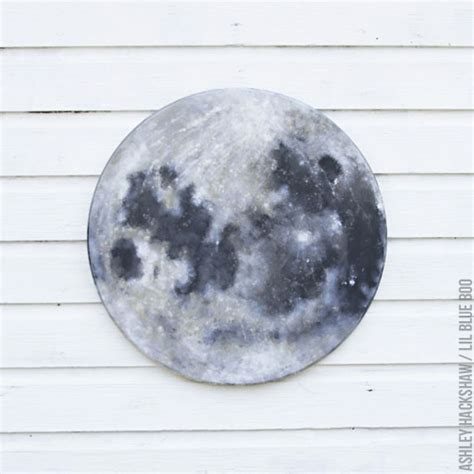 diy moon painting how to paint a moon lil blue boo bloglovin