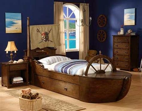 Adorable Ship Beds For The Litlle Pirates Pirate Ship Bed