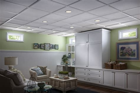 Dropped Ceiling Ideas Basement Decorating Pinterest Basement Lighting Ideas Drop Ceiling