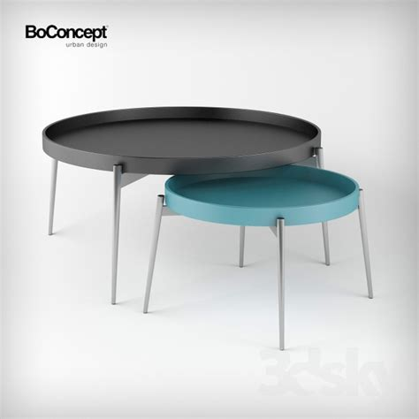 boconcept coffee table 3d models table coffee table vera boconcept