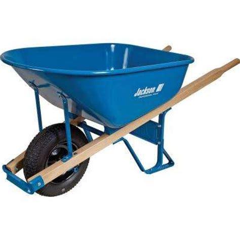 wheelbarrows wheelbarrows yard carts the home depot