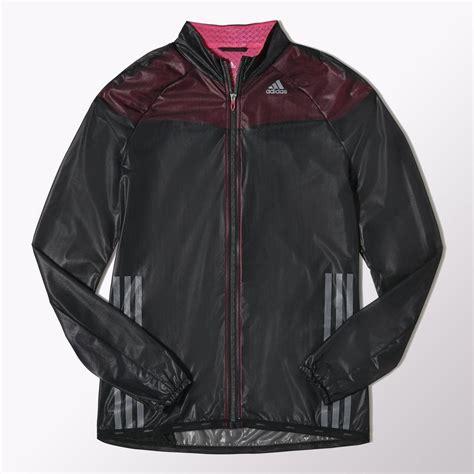 Jaket Climaproof adidas womens adizero climaproof jacket black