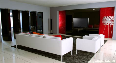 red black and white living room decorating ideas home 25 living room ideas for your home in pictures