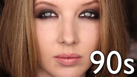 up 90s historically accurate 90s grunge makeup tutorial