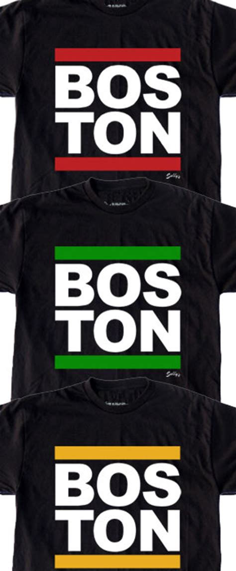 T Shirt Run Bos Kaos Run Bos boston run dmc style shirts