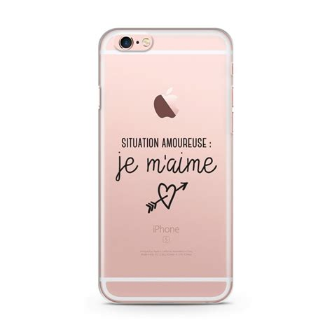 coque iphone 6 et 6s situation amoureuse