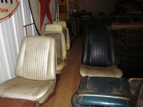 Vintage Chevy Car Seats Classic Chevrolet Auto Seats