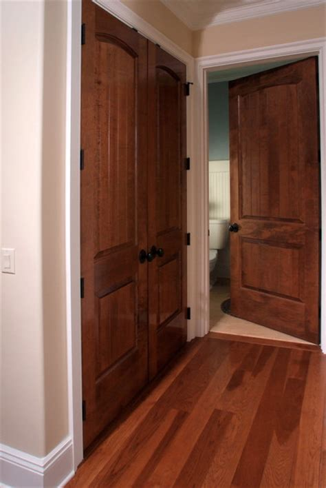 Solid Maple Sante Fe 8 Ft Interior Door Contemporary Maple Interior Door