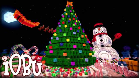 minecraft christmas tree map park minecraft map with