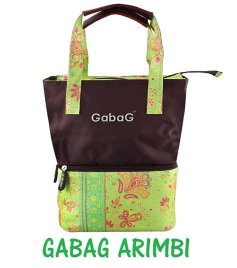 Tas Pendingin Cooler Bag Lunch coolerbag gabag arimbi tas pendingin asi dua compartment