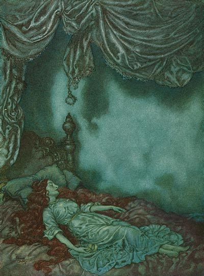 The Sleeper Edgar Allan Poe by The World S Catalog Of Ideas