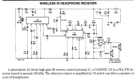 Wifi Receiver Circuit Diagram Circuit And Schematics Diagram Need Help For Ir Audio Transmitter Receiver All About Circuits