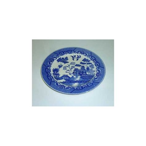 blue pattern dinner plates blue willow pattern dinner plate made in japan