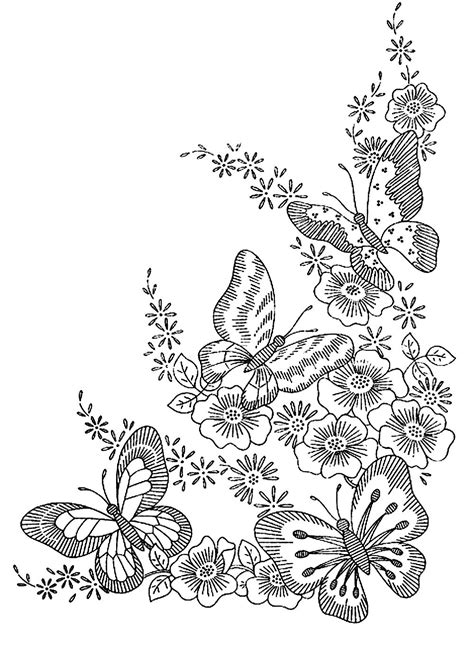 coloring pages flowers and butterflies hard butterflies butterflies insects coloring pages for