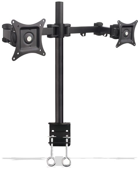 Computer Desk Mounts Articulating Dual Monitor Desk Mount 13 Quot To 27 Quot Desk Mounts Mounts Av Products