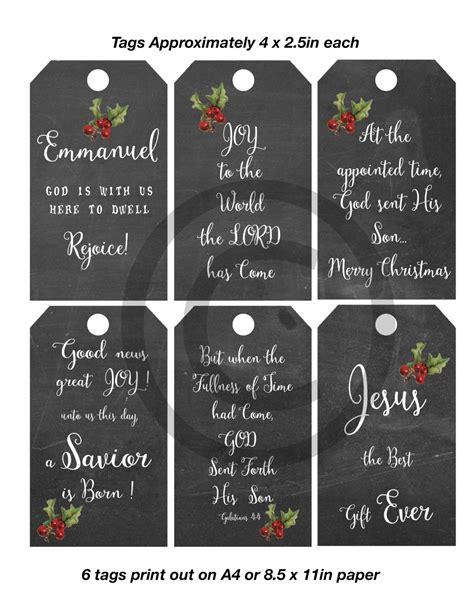 printable christmas tags christian christmas tag printable christian religious tags chalkboard