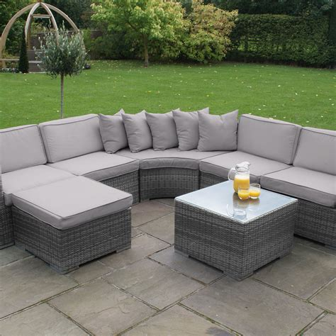 garden furniture corner sofa maze rattan barcelona corner sofa garden furniture set