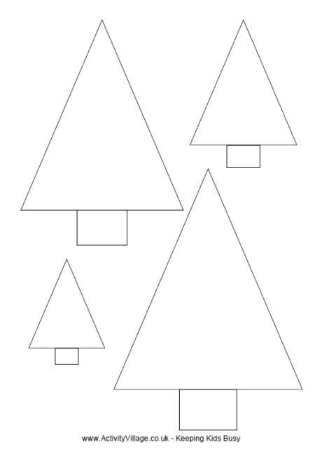 triangle christmas tree template svoboda2 com