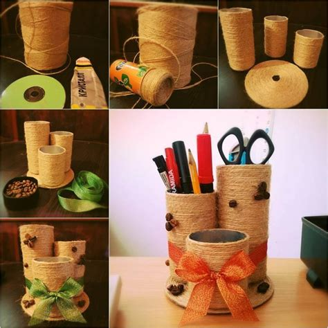 Handmade Materials - handmade things from waste material for step by step
