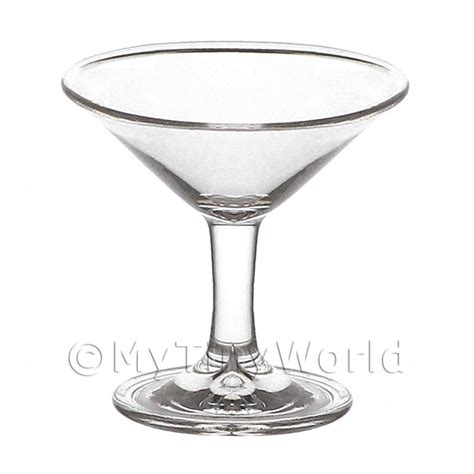Handmade Cocktail Glasses - dolls house miniature glassware dolls house miniature